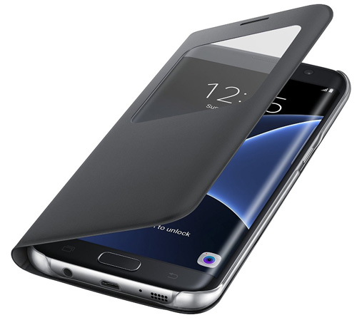#4. Samsung Galaxy S7 edge Case S-View Flip Cover