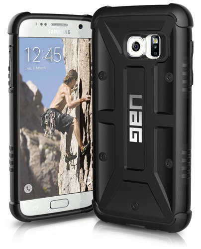 #10. UAG Samsung Galaxy S7 Feather-light Composite [BLACK] Military Drop Tested Phone Case