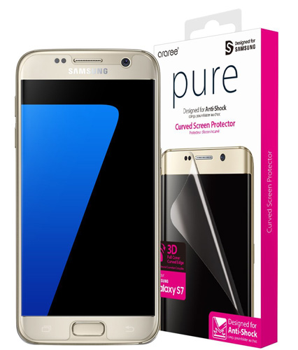 #9. Araree Galaxy S7 Screen Protector