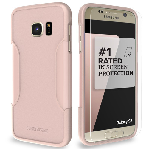 #6. Rose Gold SaharaCase