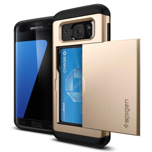 #4. Galaxy S7 Edge Case, Slim Armor CS