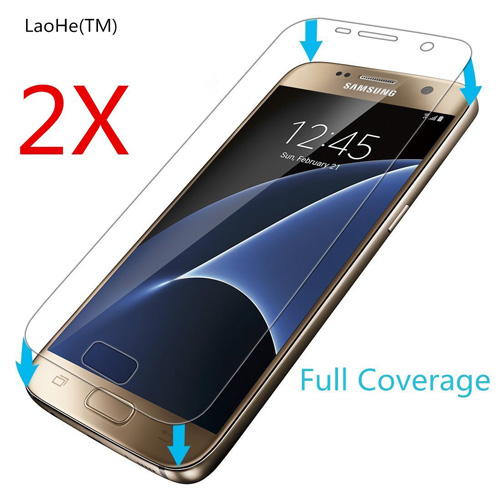 #3. Samsung Galaxy S7 Screen Protector- LaoHe
