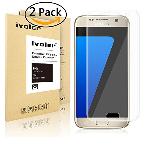 #1. Galaxy S7 Screen Protector, iVoler