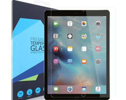 6. iXCC Tempered Glass Screen Protector for iPad Pro 12.9