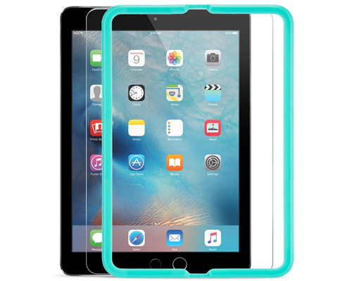 10. ESR HD Clear 9H Tempered Glass Screen Protector for iPad 9.7, iPad Pro 9.7, iPad Air and iPad Air 2