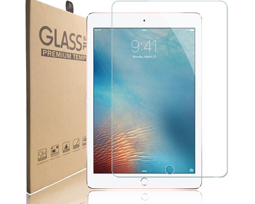 4. Thrinkgold Super Tempered Glass Table Screen Protector for iPad 9.7, iPad Pro 9.7, iPad Air and iPad Air 2