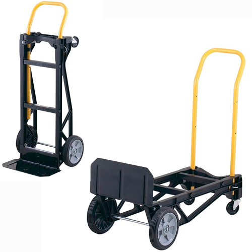 #3. Harper Trucks Lightweight Nylon Convertible Hand Truck and Dolly