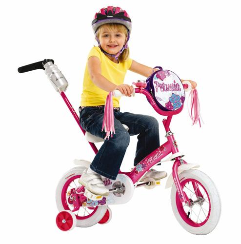 #4. Schwinn Girls' 12-inch Steerable Bike