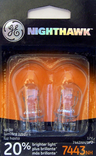 5. GE NIGHTHAWK Replacement Bulbs