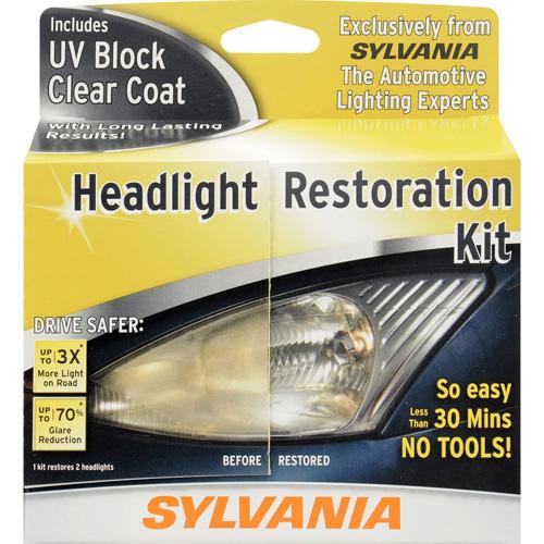 1. SYLVANIA Headlight Restoration Kit