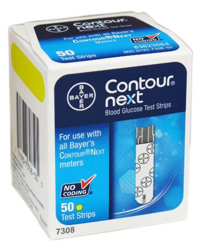 1. Contour-Next Bayer Blood Glucose Test Strips