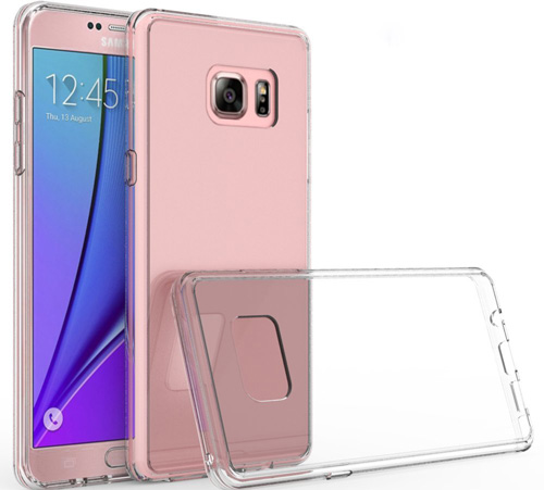 #1. Samsung Galaxy Note 7 Clear Case By IVSO