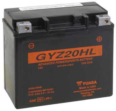 5. Yuasa YUAM720GH GYZ20HL Battery