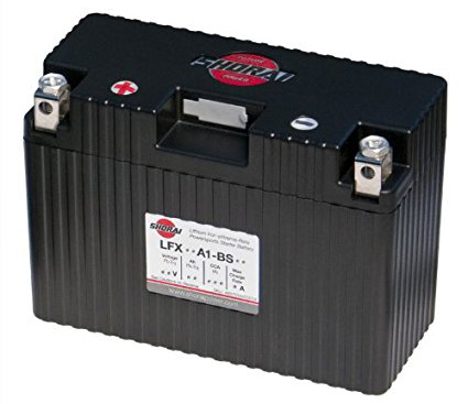 4. Shorai LFX18A1-BS12 Extreme Rate Lithium Iron Powersports Battery