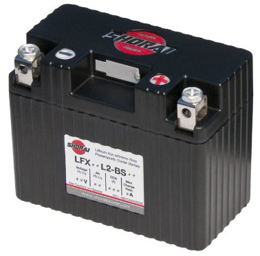 7. Shorai LFX14L2-BS12 Extreme Rate Lithium Iron Powersports Battery