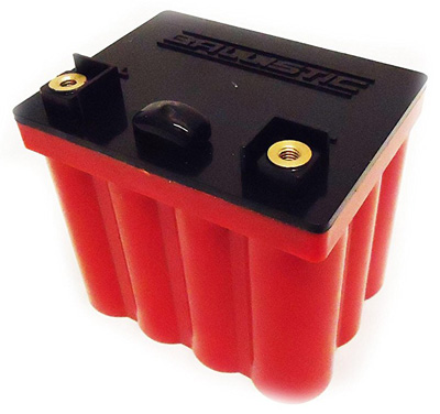 10. Ballistic Performance EVO2 12V Battery 12 Cell for Motorcycles 100-012L