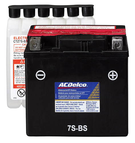 8. ACDelco ATZ7SBS Specialty AGM Powersports JIS 7S-BS Battery