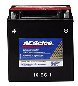 3. ACDelco ATX16BS1 Specialty AGM Powersports JIS 16-BS-1 Battery