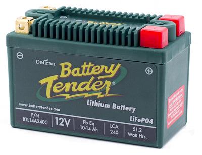 1. Battery Tender BTL14A240C Lithium Iron Phosphate Battery