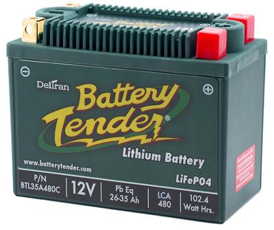 2. Battery Tender BTL35A480C Lithium Iron Phosphate Battery