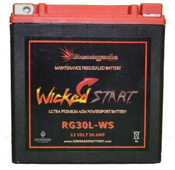 7. Wicked Start 600 CCA Ultra-Premium Powersport Battery