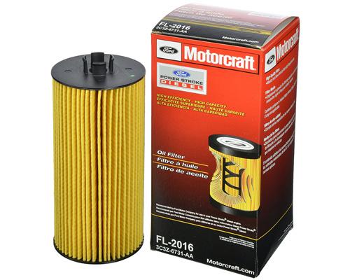 1. Motorcraft FL2016 Oil Filter