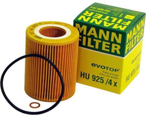 5. Metal-Free Mann-Filter HU 925/4 X Oil Filter