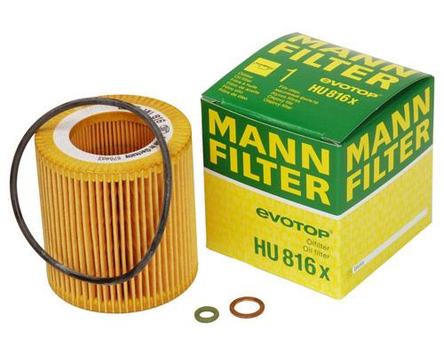 2. Metal-Free Mann-Filter HU 816 X Oil Filter