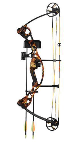 9. High Five Scorcher Compound Bow Set 555