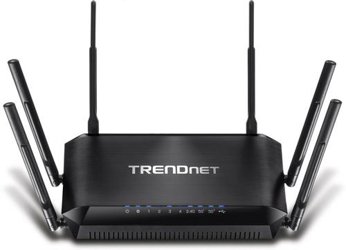 4. TRENDnet TEW-828DRU AC3200 Tri-Band Wi-Fi Router