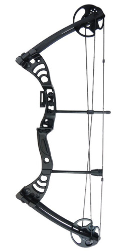 6. iGlow 30-55 lbs Black / Green / Camouflage Camo Archery Hunting Compound Bow 175 150 70 55 40 30 lb Crossbow