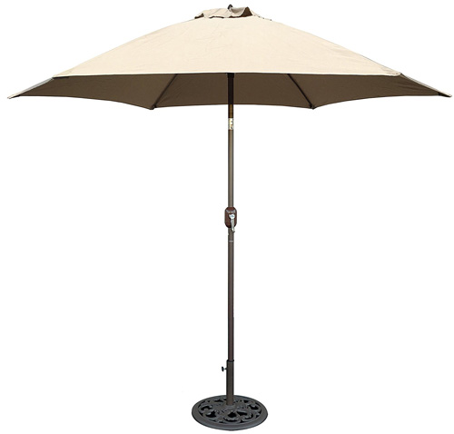 2. TropiShade 9 ft Bronze Aluminum Market Umbrella