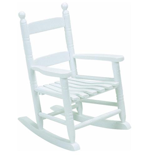 2. Jack-Post KN-10W Classic Child's Porch Rocker White