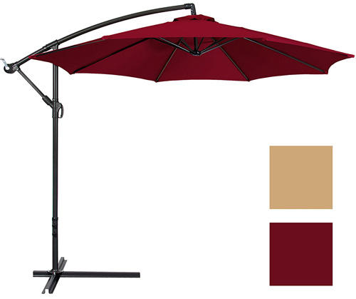 4. Best Choice Products Patio Umbrella