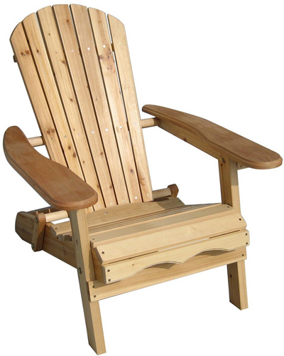 8. The Merry Garden Adirondack Chair