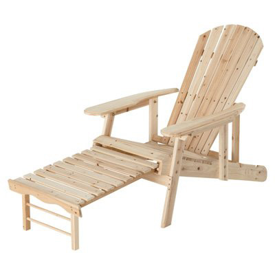 9. The Fir /Adjustable Cedar Adirondack Chair