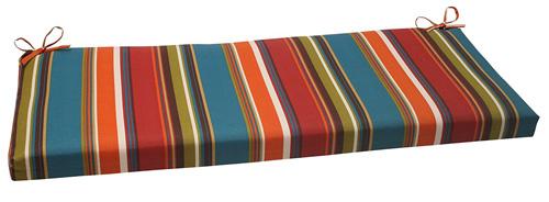 2. Pillow Perfect Indoor/Outdoor Westport Bench Cushion, Teal