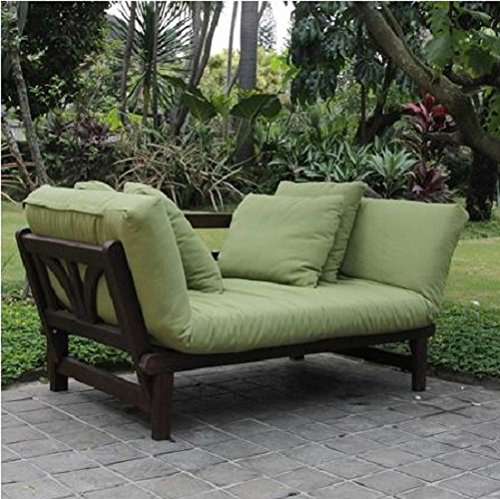 8. Outdoor Futon Convertible Sofa Daybed Deep Seating