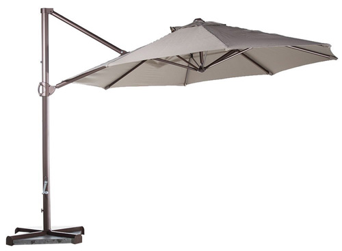 6. Abba Patio 11-Feet Aluminum Offset Cantilever Umbrella