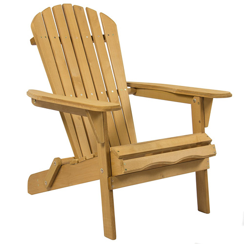 3. The Best Choice Products SKY2253 Adirondack Wood Chair