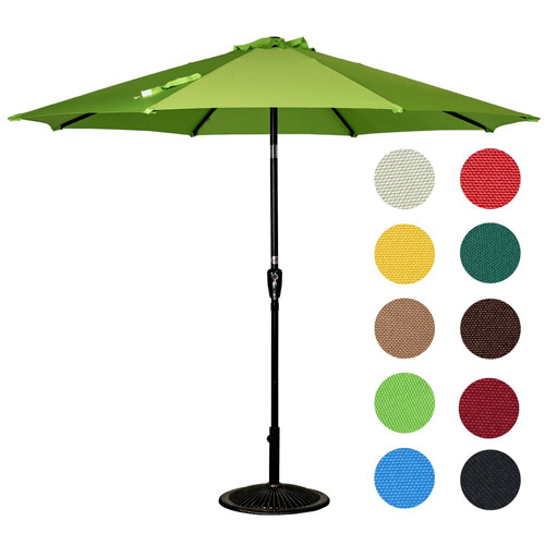 8. Sundale Outdoor 10 Feet Outdoor Aluminum Patio Umbrella