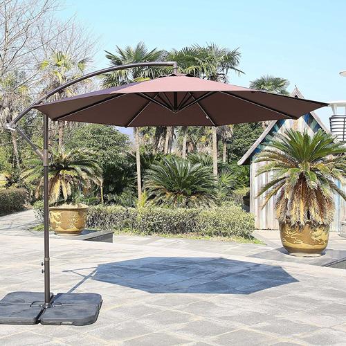 5. Sumbel Outdoor Living Offset Patio Umbrella
