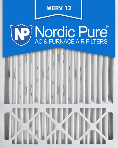 3. Nordic Pure 20x25x5 Honeywell Replacement AC Furnace Air Filters, MERV 12 (Box of 2)