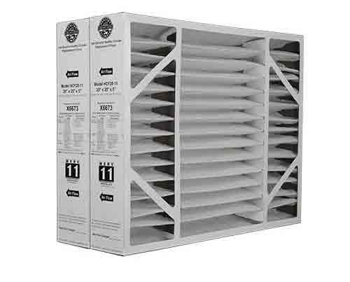 10. X6673 Lennox 20x25x5 Merv 11 Filter Media 2 Pack