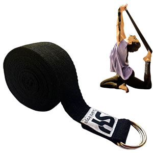 10. Sukhi Yoga Super Soft Yoga Strap