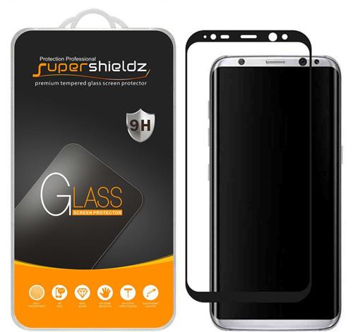 3.Supershieldz Samsung Galaxy S8 Plus / S8+ Tempered Glass Screen Protector