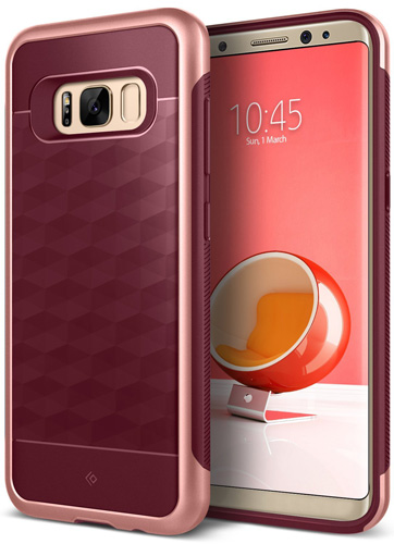 7. Caseology Galaxy S8 Plus Case – Parallel series