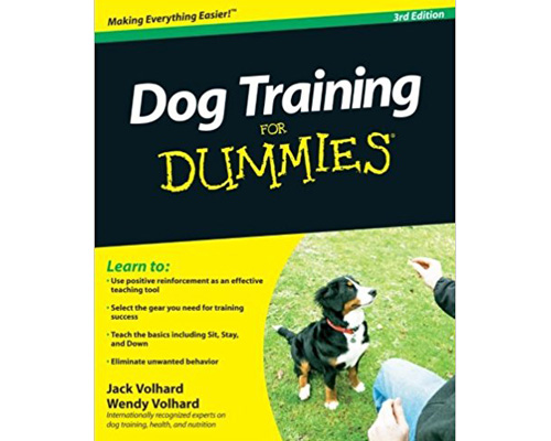 9. Dog training for dummies