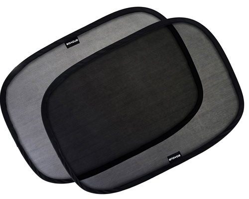 3. Enovoe has the most robust vehicle sun shade for the bay side windows