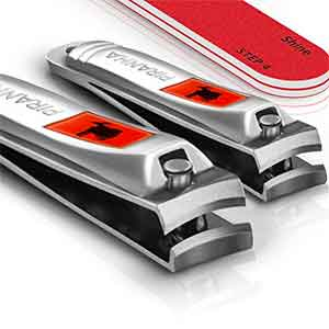 9. Sensible Needs Nail Clipper Set with Nail File and Buffer